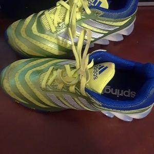 Adidas springblade boys shoes sz 5